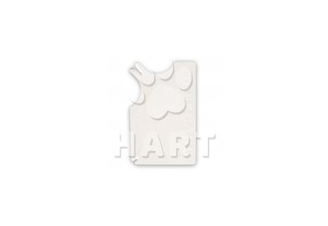SAFECARD - plastová karta na vytahování klíšťatvel. 8x5 cm