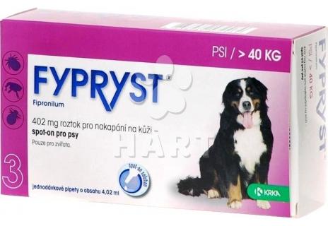 Fypryst spot on Dog XL nad 40kg