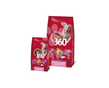 Benessere dog Forma adult MEDIUM  JEHNĚ+rýže  12kg + konzerva ZDARMA