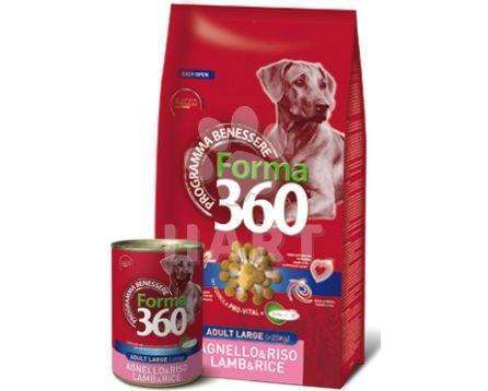 Benessere dog Forma adult MAXI  JEHNĚ+rýže  12kg + konzerva ZDARMA