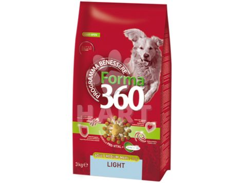 Benessere dog FORMA Adult LIGHT Medium/maxi  12kg