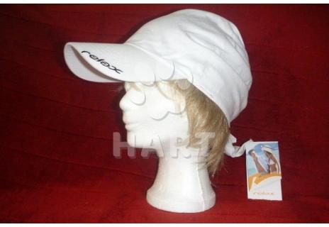 Kšiltovka-šátek zn.RELAX bílá barva