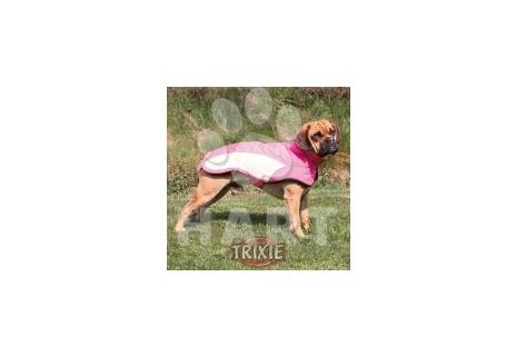 Nepromokavá, zateplená vesta s teflonovým zátěrem AVALLON růžová vel.M 45 cm