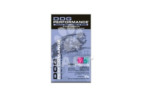 Dog Performance Adult lamb and rice (jehně s rýží)       15kg