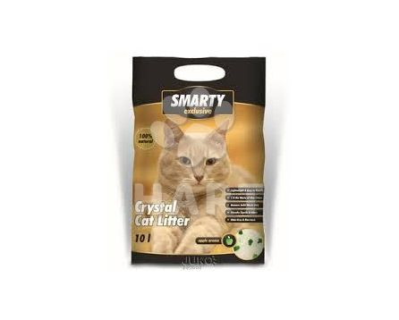 SMARTY Exclusive 7,6 litrů - Silikátové stelivo wc cat