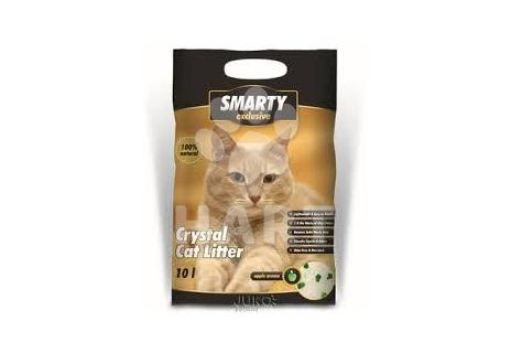 SMARTY Exclusive 10 litrů - Silikátové stelivo wc cat