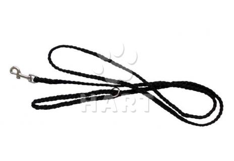 Vodítko nylon přepínací splétané 10mm x 200cm- černá barva