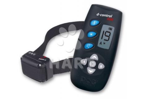 Elektronický výcvikový obojek D-CONTROL 400 (zvuk, laď.impulz, booster), barva černá