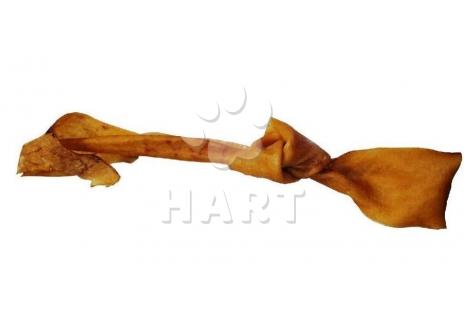 Vepřový uzel sušený, z kůže vepřová  20-25cm