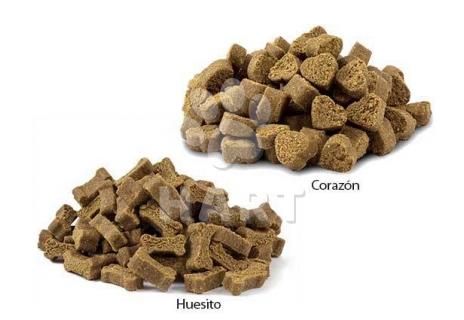 Pamlsky - Tréninková srdíčka, měkký pamlsek, 60%masa 250g 1bal