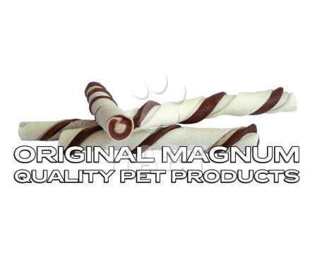 """Kroucená tyč MAGNUM Rawhide Roll stick BROWN 5""""-12,5cm"""