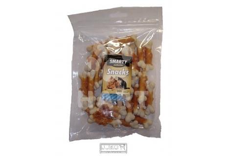 Pamlsky - Snack Chicken&white calcium bone(měkké kuřecí masíčko na kalciové kostičce) 250g(cca34ks) 1bal