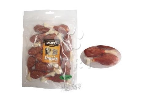 Pamlsky - Snack Rabbit Leg -králičí měkké maso na vápníkové kostičce  250g