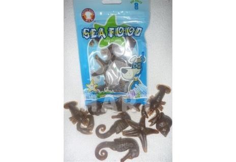 Pamlsky - Fisch SEA FOOD plody moře 72g   8 ks v balení