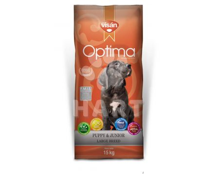 OPTIMA  Visán - PUPPY & JUNIOR LARGE BREED    20kg