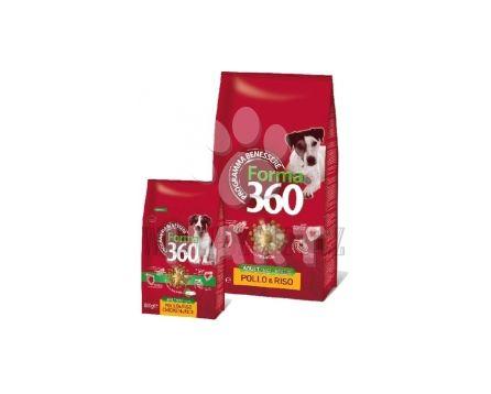 Benessere dog FORMA Adult SMALL kuře+rýže, Best Breeder(vážené z chov.balení)  1kg