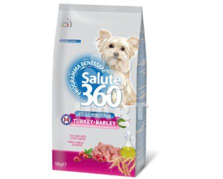 Benessere dog SALUTE 360 mini adult small KRŮTA + ječmen 1,8kg
