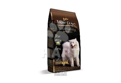 TRIPLE CROWN dog – Gourmet dog with lamb and rice (dospělí psi-jehně s rýží) 15kg