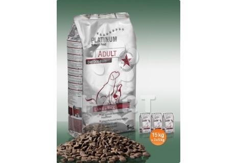 Platinum Natural Food ADULT Lamb+rice(pro dospělé psy) 10kg