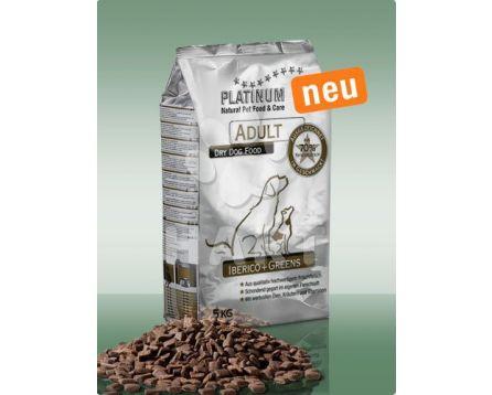 Platinum Natural food Iberico & Greens - kančí maso    15kg