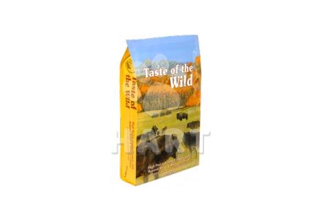 Taste of the Wild Prairie Adult (pečený bizon a zvěřina)      12,2kg