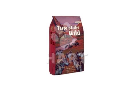 Taste of the Wild Southwest Canyon (hovězí maso+pečený divočák)  12,2kg