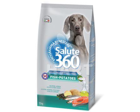 Benessere dog Salute adult ryba+brambor med/maxi 1kg