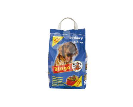 Dingo suchary klasický tvar  2,5kg taška