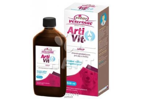 Nomaad Artivit Sirup -kloubní tekutá výživa 1000ml