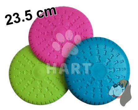 Frisbee disk / talíř z tvrdé gumy prům.23,5cm         1ks