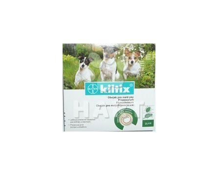Kiltix - antiparazitní obojek 35cm( pro malé psy)