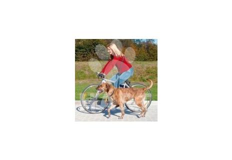 Vodítko na kolo a joging nastavitelné dl.1,00-2,00m/š.25mm TRIXIE