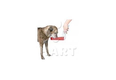 Cestovní láhev na vodu pro psa  500ml                      1ks