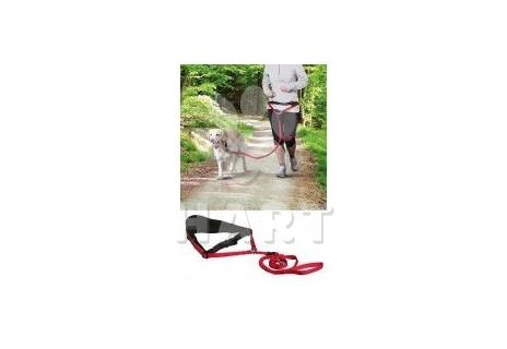 Pás/opasek na běh s pružným vodítkem/souprava pro běh se psem vel.M-L