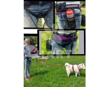 Multifunkční sedák vel.XL(obv.pasu 95-110cm) pro sport se psem
