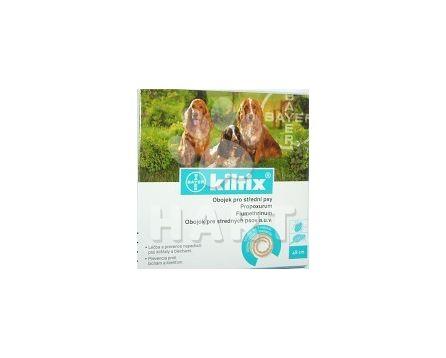 Kiltix - antiparazitní obojek 48cm( pro střední psy)