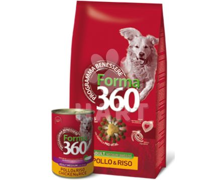 Benessere dog Forma adult MEDIUM Kuře+rýže 12kg