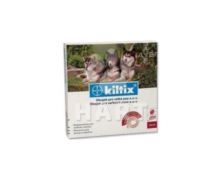 Kiltix - antiparazitní obojek 70cm( pro velké psy)