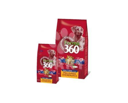 Benessere dog FORMA 360 Adult LARGE Kuře + rýže  12kg + konzerva zdarma