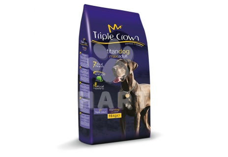 TRIPLE CROWN dog - TITAN DOG MAXI ADUL 15kg