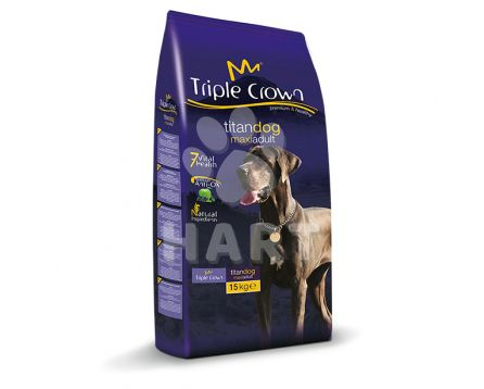 TRIPLE CROWN TITAN DOG MAXI ADUL 15kg