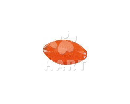DentaFun rugby míč, termoplastová guma vel.10 cm