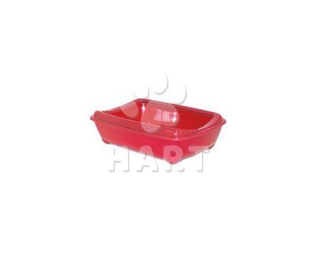 WC Arist-o-cat červené WC s okrajem, 42cm