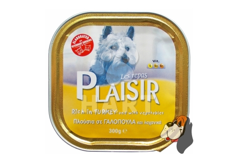 Plaisir Dog vanička Krůta 300g