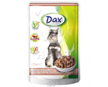 Dax kapsička DOG KRŮTA+KACHNA 100g