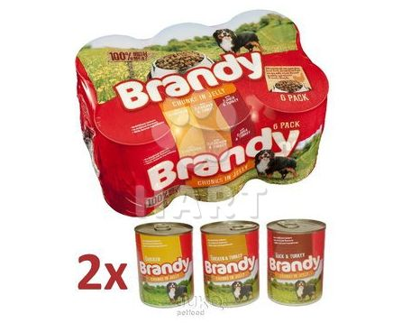Brandy Mix Chunks in Jelly -kousky v ŽELÉ  395g