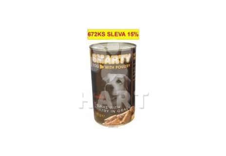 SMARTY chunks DOG POULTRY-drůbeží 1240g