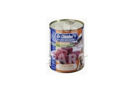 Konzerva dr.Clauder's krůtí maso s rýží      820g