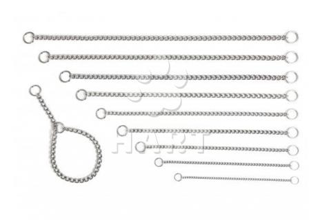 Obojek řetízkový stahovací 1ř., dl.50cm x 3,0mm