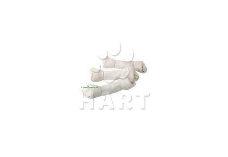 Uzel z buvolí kůže expandovaný s  kalciem bíly 21cm